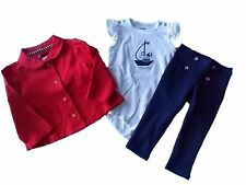 NWT Girl's Gymboree Shore to Love jacket pants shirt outfit ~ 12 18 24 months