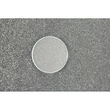 Round Flat Mineral Watch Replacement Crystal Clear Size 21.4mm