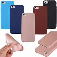 Hybrid Shockproof Slim Rubber TPU Soft Case Cover For Apple iPhone 5 6 6s 7 Plus