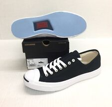 CONVERSE JACK PURCELL CP CANVAS OX #1Q699  BLACK / WHITE  *NEW*