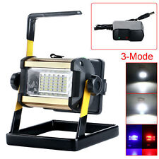 50W 36 LED Portable Rechargeable Flood Light Spot Work Camping Fishing Lamp