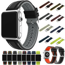 New Replacement Silicone Wrist Bracelet Sport Band Strap For Apple Watch 38/42mm