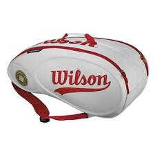 Wilson 100 Year Tour Molded 9pk Tennis Bag - White/Red - RRP: £99.99