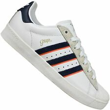 ADIDAS ORIGINALS SUPERSTAR II ALL TIMER AQ8704 TRAINERS SHOES PLAYER WHITE BLUE