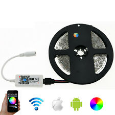 LED Strip 5050 RGBW  Set 5 meter RGB LED Strip + Mini Wifi RGBWW LED Controller