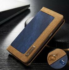 Luxury Leather Wallet Card Holder Flip Case Cover For Samsung Galaxy S8 Plus /S7