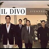 Il Divo Siempre CD (2006 SYCO 88697 02674 2), excellent, free shipping