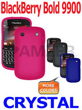 AMZER Crystal Snap On Shell Hard Case Cover For Blackberry Bold 9900 9930