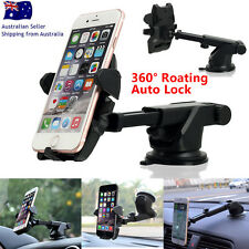 360° Rotating Car Windshield Mount Holder Stand Cradle F Samsung Galaxy S8 + GPS