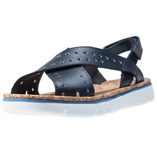 Camper Oruga Twins Womens Sandals Dark Blue New Shoes