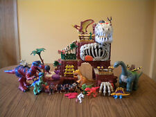 Fisher Price Imaginext T-Rex Mountain Sound Light w/Dinosaurs Figures  & Extras