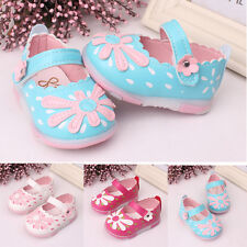 Summer Cute Baby Kids Toddler Sunflower Girls Lighted Soft-Soled Princess Shoes