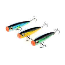 Big Poppas Popper Metallic Freshwater Fishing Topwater Lure