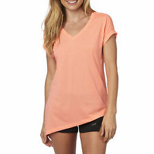 Fox Racing Womens Melon Sharpest Knot Roll Sleeve T-Shirt Tee