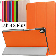 Magnetic Flip Leather Case Stand Cover Shell For Lenovo Tab 3 8 Plus TB-8703 8""