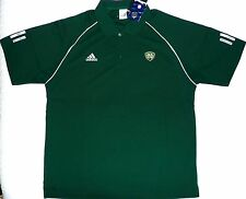 Notre Dame Irish Adidas Climacool Team Polo Shirt Green Men's S Small & M Medium