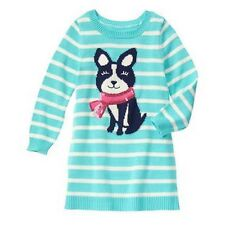 NWT Gymboree SNOWFLAKE FUN Sz 5 6 7 8 10 Cozy Pup Dog Puppy Sweater Dress