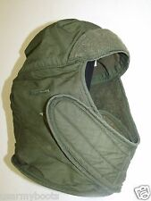 US Army Military Insulated OD green Helmet Liner Cap Hat Head Cover Face Mask GI