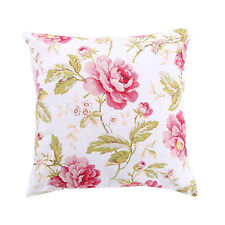 New Bed Runner Peony Flower Home Hotel Bed End Cloth Pillowcase Pastoral Bedding