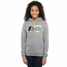 Tennessee Volunteers Women's Smokey Mascot Pullover Hoodie - Ash - College