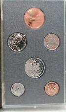 1988 Canada 6 Coin Specimen Set By RCM With COA