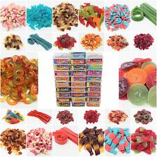 YUMMY GUMMY JELLY FIZZY PENCILS CANDY BELTS SWEETS TUBS VARIATIES 100% HALAL HMC