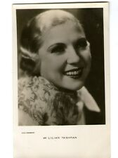 Lilian Tashman vint big smile Dutch Photo Postcard