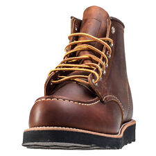 Red Wing 6-inch Moc Toe Mens Boots Copper New Shoes