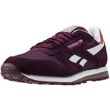 Reebok Classic Camp Mens Trainers Maroon New Shoes