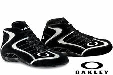 Oakley - Race Mid FR Auto Racing Shoes - SFI/FIA - SFI-5 Rated Boot Black - Shoe
