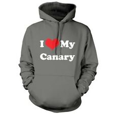 I Love My Canary - Unisex Hoodie / Hooded top - Bird - Canaries - Pet