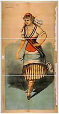 Photo Print Vintage Poster: Theatre Flyer 1800s Blank Unknown 26
