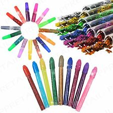Assorted Pens & Tubes +GLITTER+ Fun Childrens Decorating Cardmaking/Scrapbooking