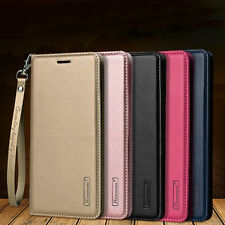 For Samsung Galaxy S8+/NOTE 8 Magnetic Flip Leather Wallet Stand Case Card Cover
