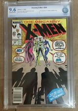 The Uncanny X-Men #244 (May 1989, Marvel) CBCS 9.6! 1st Jubilee!