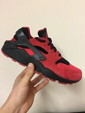 Nike Air Huarache QS Love/Hate 2014 Edition Red/Black Size UK 7 and 9 Deadstock