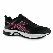 Reebok Pheehan Run 4 Running Shoes Womens Blk/Pink Trainers Sneakers Sports Shoe