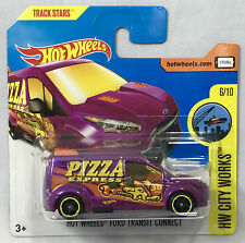Hot Wheels 2017 - Ford Transit Connect - Short Card Pizza