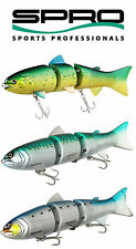 "SPRO BBZ-1 SALTWATER SWIMBAIT 8"" FAST SINKING select colors"
