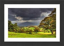 53x38cm Framed Print-Countryside scene near Sawry, Lakes district-12466971_8167