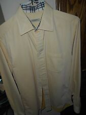 BURBERRY MEN'S LONG SLEEVE SHIRT...MINT COND! JUST DRY CLEANED