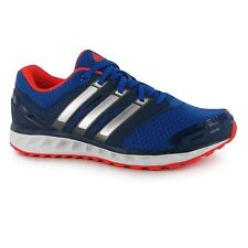 Adidas Falcon Elite 3 Running Shoes Mens Blue/Silver/Red Trainers Sneakers