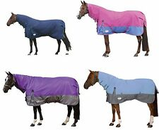WEATHERBEETA LANDA 600D LIGHTWEIGHT COMBO ATTACHED FULL NECK NO FILL TURNOUT RUG