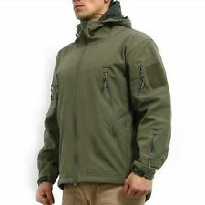 Men's Army Military Special Ops Softshell Tactical Jacket Small Medium - X Large