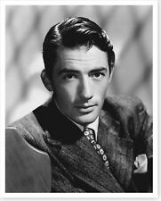 Classic Hollywood Movie Actor Gregory Peck Silver Halide Photo