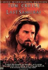 The Last Samurai (DVD, 2004, 2-Disc, Widescreen Edition) Tom Cruise, Brand New