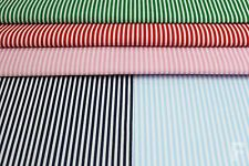 3 mm STRIPES ON PRINTED POLY COTTON FABRIC - WIDTH 112 CM