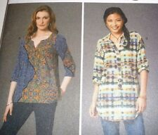 Women Boho Blouse Top Pullover Tunic Sewing Pattern 7251 McCall's Size 6-22 New