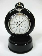 BLACK Ceramic Pocket watch stand watch display stand (choice of 3 colours)