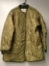USGI Desert Parka Liner Coat Insert OD Green Army USMC Surplus Cold Weather